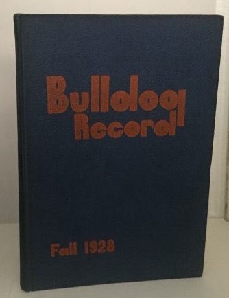 Image for Bulldog Record Of Commerce High School Yearbook - Fall 1928