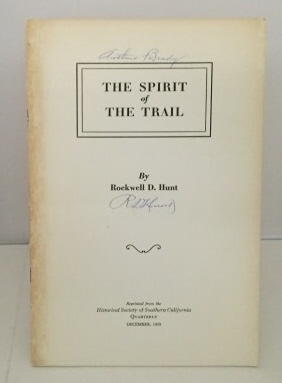 Image for The Spirit Of The Trail