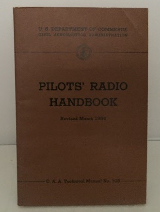 Image for Pilot's Radio Handbook Revised March 1954