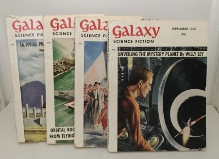 Image for Preferred Risk Four volumes from  Galaxy magazine (June through September 1955)