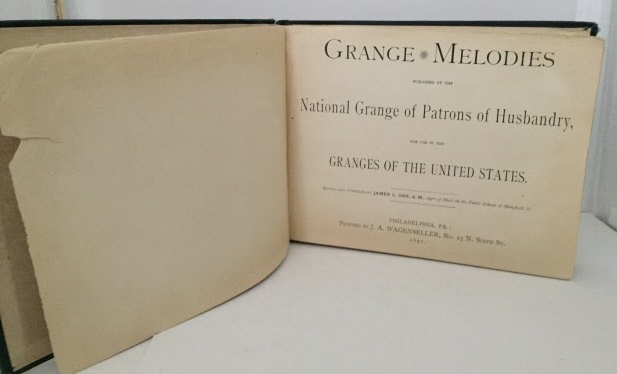 Image for Grange Melodies Published by the National Grange of Patrons of Husbandry...