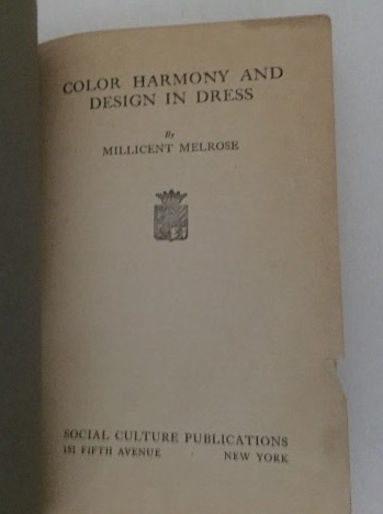 Image for Color Harmony And Design In Dress