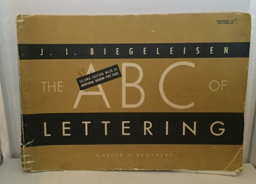 Image for The ABC Of Lettering