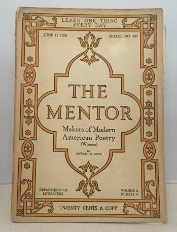 Image for The Mentor Makers of Modern American Poetry (Women)