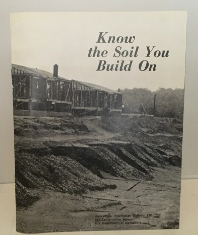Image for Know The Soil You Build On  (Information Bulletin 320)