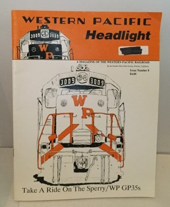Image for Western Pacific Headlight Issue No. 8, Vol. 92, No. 2