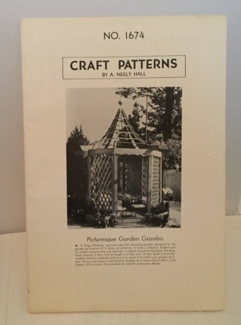 Image for Craft Patterns No. 1674 (picturesque Garden Gazebo)