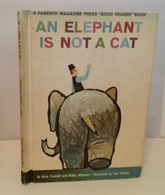 Image for An Elephant Is Not A Cat