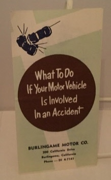 Image for What To Do If Your Motor Vehicle Is Involved In An Accident