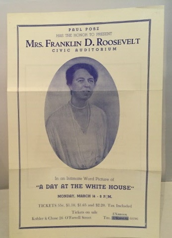 "Image for ""A Day At The White House"" An Intimate Word Picture by Mrs. Franklin D. Roosevelt"