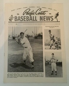 Image for Pacific Coast Baseball News June 25, 1949