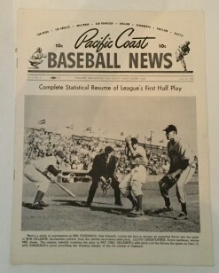 Image for Pacific Coast Baseball News July 10, 1949