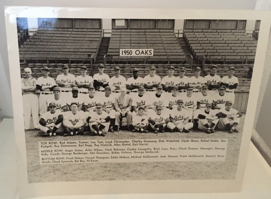 Image for 1950 Oakland Oaks Team Photograph