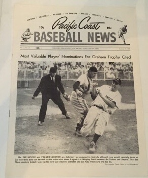 Image for Pacific Coast Baseball News August 25, 1949