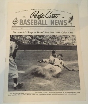 Image for Pacific Coast Baseball News July 25, 1949
