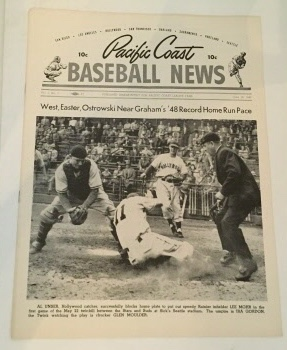 Image for Pacific Coast Baseball News June 10, 1949