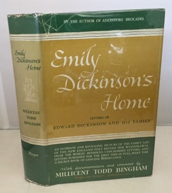 Image for Emily Dickinson's Home Letters of Edward Dickinson and His Family