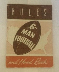 Image for Official Six-Man Football Rules and Handbook (Including Touch Football Rules)