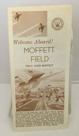 Image for Welcome Aboard! Moffett Field F8u-1 over Moffett