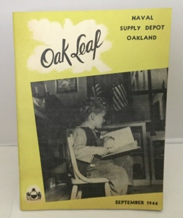 Image for The Oak Leaf: Naval Supply Depot Oakland Volume II, No. 8 (September 1944)