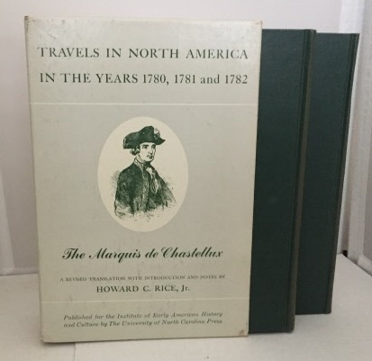 Image for Travels In North America In The Years 1780, 1781 And 1782  (Published for the Institute of Early American History and Culture)