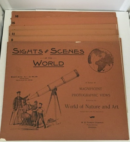 Image for Sights And Scenes Of The World (people's Series 1893)  A Series of Magnificent Photographic Views Embracing the World of Nature and Art. Volumes 1, 7,9,10,11,12,15., and 16