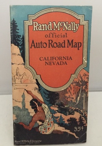 Image for Rand Mcnally Official Auto Road Map California / Nevada