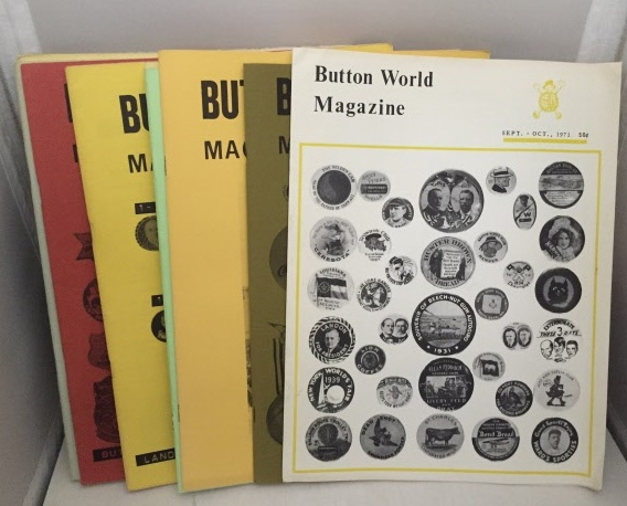 Image for Button World Magazine 11 Non Consecutive Magazines from 1971 -1974