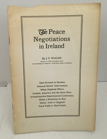 Image for The Peace Negotiations In Ireland