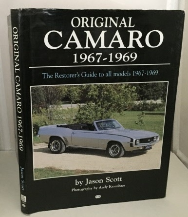 Image for Original Camaro 1967-1969 The Restorer's Guide to All Models 1967-1969