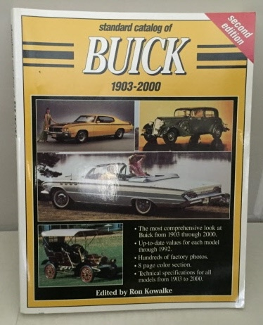 Image for Standard Catalog of Buick 1903-2000 Second Edition