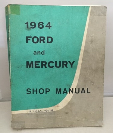 Image for 1964 Ford-mercury Shop Manual