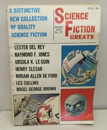 Image for Science Fiction Greats Spring 1970 No. 17