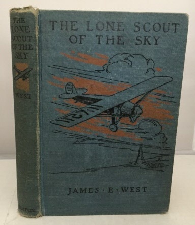 Image for The Lone Scout Of The Sky The Story of Charles A. Lindbergh