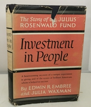Image for Investment In People The Story of the Julius Roesnwald Fund