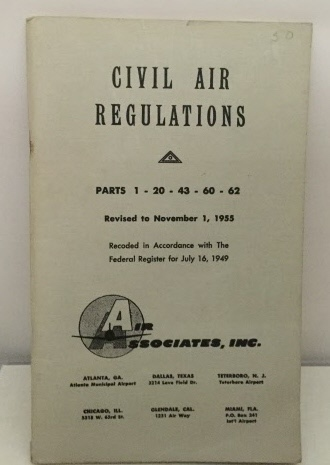 Image for Civil Air Regulations Parts 1-20-43-60-62