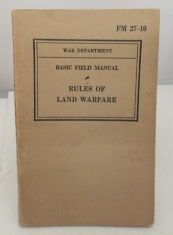 Image for Basic Field Manual (rules Of Land Warfare)   (Fm 27-10)