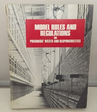 Image for Model Rules And Regulations On Prisoners' Rights And Responsibilities