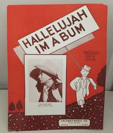 Image for Hallelujah I'm A Bum