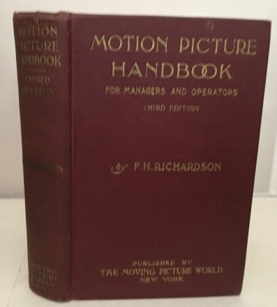 Image for Motion Picture Handbook For Managers and Operators (Third Edition)