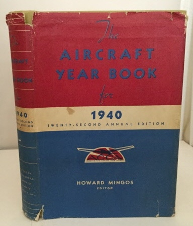 Image for Aircraft Year Book 1940 Wings of Industry, Wings of Commerce, Wings of Travel