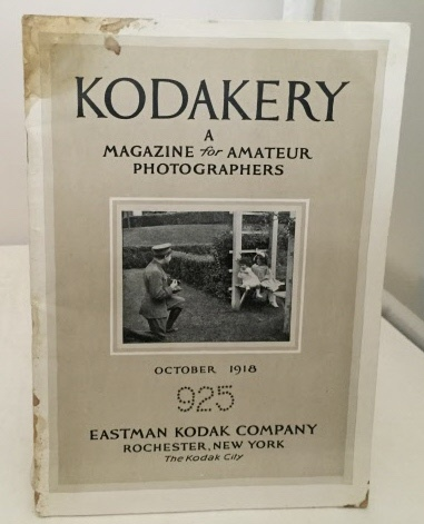 Image for Kodakery A Magazine for Amateur Photographers (October 1918)