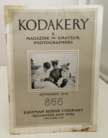 Image for Kodakery A Magazine for Amateur Photographers (September 1918)