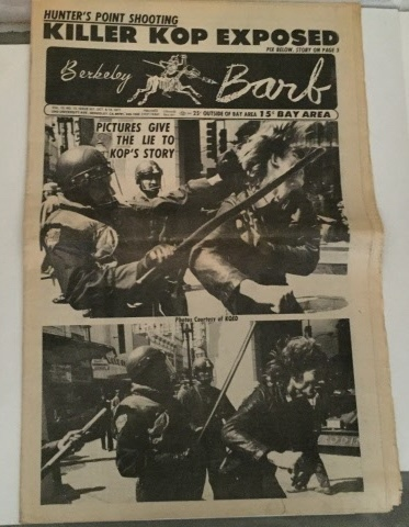 Image for Seven Issues Of The Berkeley Barb Non-Consecutive Issues Beginning Jun. 1969 through Nov. 1972