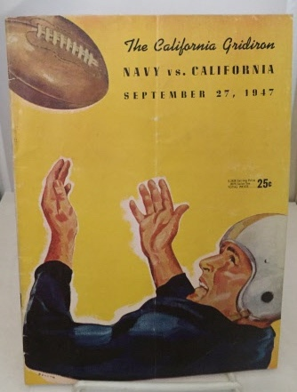 Image for Navy Vs. California September 27, 1947