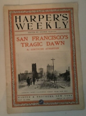 Image for Harper's Weekly San Francisco's Tragic Dawn (By Gertrude Atherton) (May 12, 1906)