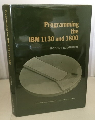 Image for Programming The IBM 1130 And 1800