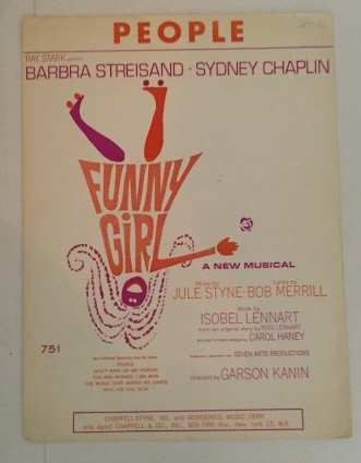 Image for People  (From the Musical Funny Girl)