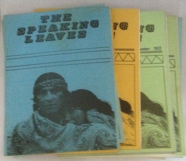 Image for The Speaking Leaves 18 Issues Including April 1972 through Dec. 1973 (Intermittent)