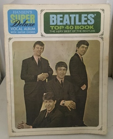 Image for The Beatles Top 40 Book Deluxe Vocal Album with Guitar Diagrams